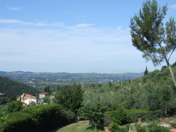 Bed and Breakfast Villa Nobili panorama from the windows 2-min