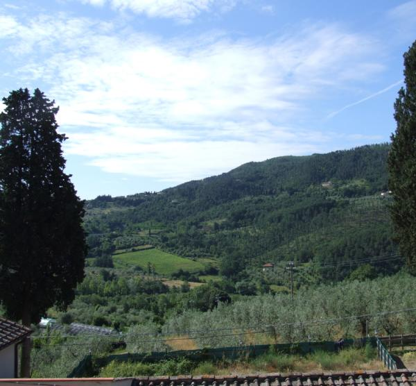 Bed and Breakfast Villa Nobili panorama from the windows 1-min